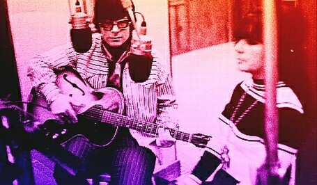 March 11, 1970. Tennessee Birdwalk session. Here's a picture of us kids recording it.