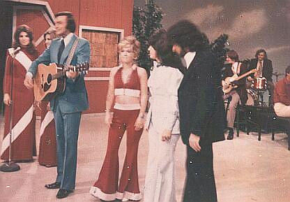 Jack and Misty with Sammi Smith and Jim Ed Brown on Pop Goes the Country